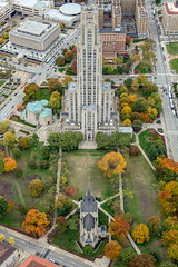 An aerial view of the Cathedral of Learning and Heinz Chapel (Dave DiCello) Tags: pittsburgh aerials pittsburghskyline downtownpittsburgh davedicello imagesofpittsburgh viewsofpittsburgh pittsburghprints pittsburghskylineimages aerialpittsburgh pittsburghfromtheair aerialviewsofpittsburgh