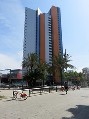 20150505 - Barcelone Espagne - La façade maritime (anhndee) Tags: barcelona spain catalunya espagne barcelone catalogne