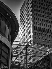 Manchester 2016 (Ollie Smith Photography) Tags: building monochrome architecture manchester mono blackwhite nikon may citycentre lightroom sigma1750 silverefexpro2 d7200