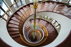 (Elbmaedchen) Tags: berlin kreuzberg treppen treppenhaus wendeltreppe treppenauge