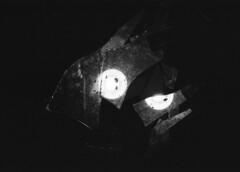 ex-mirror [analog] (__J) Tags: blackandwhite bw berlin film night analog canon 50mm mirror streetlight nacht spiegel scan scanned sw a1 analogue canona1 spiegelung brokenmirror neuklln mirroring scherben canonfd50mm18 canonfd schwarzweis strasenlaterne zerbrochenerspiegel