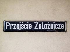Wrocaw (isoglosse) Tags: sign streetsign poland polska schild polen sansserif wrocaw breslau znak kropka kreska strasenschild tabliczkaznazwulicy