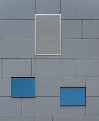 Blue meets gray (jefvandenhoute) Tags: blue light lines belgium belgique gray shapes belgi rhythm nikond800 photoshopcs6