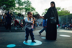 Come With Me If You Want To Live (JMJ Cinematics) Tags: nyc newyorkcity baby ny newyork playground brooklyn toddler crying streetphotography cry crybaby nuevayork terribletwos jmjcinematics josemiranda