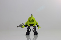 A Random Alien (Just Bricks) Tags: lego fig alien barf fi sci