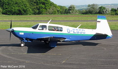 D-ESSO Mooney Fife June 2016 (pmccann54) Tags: glenrothes mooneym20 desso fiferegionalairport