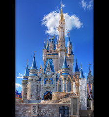 Cinderella's Castle - Disney's Magic Kingdom (J.L. Ramsaur Photography) Tags: sky architecture clouds photography photo nikon florida towers engineering bluesky pic icon disney disneyworld photograph mickeymouse thesouth cinderella orangecounty waltdisneyworld magical iconic hdr magickingdom waltdisney whiteclouds engineeringasart centralflorida beautifulsky happiestplaceonearth 2016 imagineering photomatix lakebuenavistafl deepbluesky bracketed skyabove wheredreamscometrue hdrphotomatix ofandbyengineers hdrimaging cinderellascastle ibeauty hdraddicted allskyandclouds tennesseephotographer lategothicarchitecture structuresofthesouth southernphotography screamofthephotographer hdrvillage engineeringisart jlrphotography photographyforgod disneysmagickingdom worldhdr d7200 hdrrighthererightnow engineerswithcameras hdrworlds jlramsaurphotography nikond7200 1400sstylearchitecture