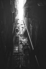 The Abyss (-Makar79-) Tags: 6d canonef24mmf14liiusm streetview blackandwhite monochrome genova liguria italia vicoli centrostoricodigenova caruggi mono biancoenero 24l 24lmkii