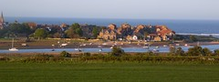 Alnmouth Panorama - Northumberland (Gilli8888) Tags: northumberland alnmouth coast seaside sea town boats yachts port harbour buildings panorama landscape vista
