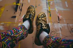 Brand new old shoes (Vinícius R) Tags: africa urban graffiti design afro moda fresh urbanart hiphop reciclagem desenho patern hocks arteurbana brechó padrao stayfresh keepitfresh modasustentavel tenisfashion