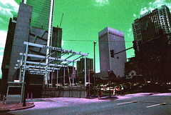 Levine Center (hpaton1) Tags: film analog purple charlotte canonef2470mmf28l canoneos1v lomochrome