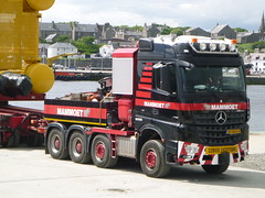 Mammoet (A9 AWM) Tags: mammoet heavyhaulage wick harbour subsea7 towhead