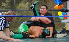 1-2-3 (Jacob...K) Tags: true sport america one referee mask wrestling south ring southern pro americana appalachian appalachia mortician luchadore nevershootanindian3times youwillmakehimangry