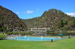 First Basin pool (dracophylla) Tags: australia tasmania cataractgorge firstbasin westlaunceston