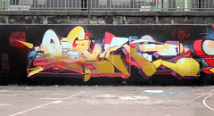 OGRE by ZOER CSX (zoercsx) Tags: france graffiti lyon velvet greetings exchange ogre csx zoer kryo zoercsx