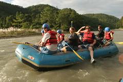 Relaxing On the Karnali river Adventure rafting and kayaking trip