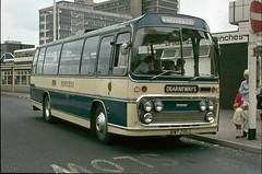 69. GWT 235J: Dearneways, Goldthorpe (chucklebuster) Tags: leopard elite isle coaches bannister leyland plaxton sypte dearneways gwt235j