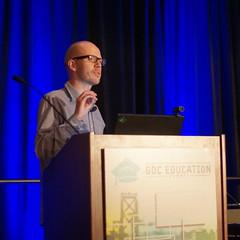 Game Developers Conference 2012 (Sklathill) Tags: gdc jesperjuul gdc2012