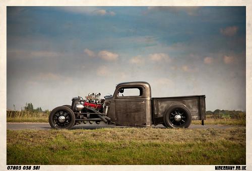 Custom Car Magazine Steve Cooke Pickup with Betty Havok IMG_9852
