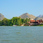 On the river Kwae, Kanchanaburi, Thailand thumbnail