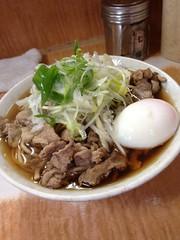肉そば@南天本店(椎名町)
