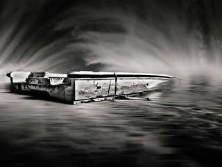 Boat lost in time