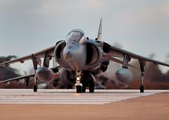 Harrier (BMrider2012 Over 1.5 Million Views! Thankyou :-) Tags: new england interesting nikon fighter military formation explore falklands recent raf hawker harrier vtol d300 airdisplay cottesmore gr7 300mmf4afs gr9 rafcottesmore verticaltakeoff baesystemsharrier 4squardron britishaerospaceharriergr9