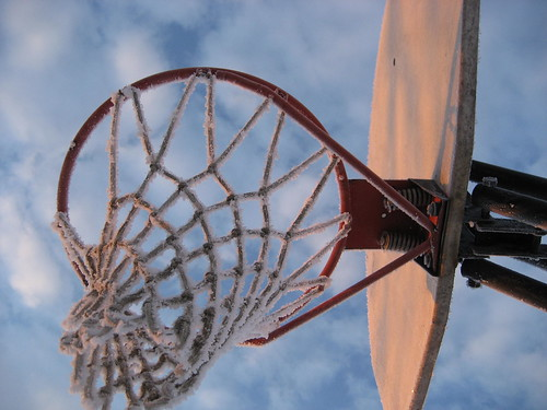 winter basketballhoop winterwonderland