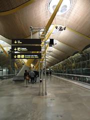 Terminal 4S, Madrid Barajas Airport (Taylor Mc) Tags: madrid españa airport spain aeropuerto terminal4 barajas