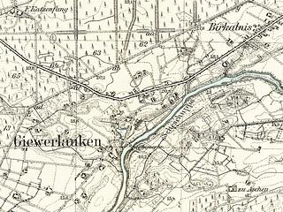 062 Giewerlauken - Umgebungskarte
