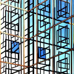 flop (jegeor) Tags: street city blue urban abstract paris france reflection building texture window face lines architecture skyscraper canon square french mirror day tour angle lumire couleurs angles jour line moderne bleu reflet lumiere repetition 5d miroir maison reflexions fentre blanc reflets btiment 75015 couleur ville faade mtal immeuble vitres verre carr urbain vitre paris15 rflection rflexion 2470 5d2 mirrorser 5dmkii jegeor