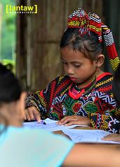 Lake Sebu: Ubo kid in traditional garb (lantaw.com) Tags: traditional philippines tribal outreach bpp sikat lakesebu ubo tboli southcotabato blackpencilproject