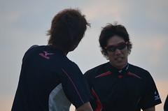 DSC_0136 (mechiko) Tags: 横浜ベイスターズ 120209 荒波翔 嶋村一輝 横浜denaベイスターズ 2012春季キャンプ