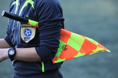 it's not that easy (dtsortanidis) Tags: sports football goal referee fifa flag soccer watch professional greece badge players amateur uefa penalty chronograph assistant dimitris patra epo dimitrios offside tsortanidis