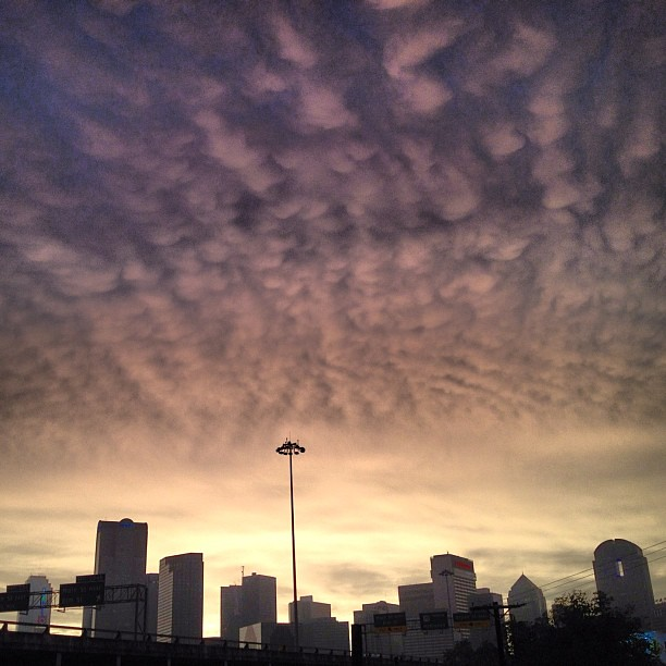 creepy end to tornado day dallas