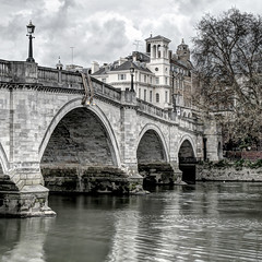 The Bridge At Richmond (violinconcertono3) Tags: bridge london water thames river landscapes spring flickr unitedkingdom fineart cityscapes richmond fineartphotography davidhenderson london2012 fineartphotographer londonphotographer 19sixty3 19sixty3com