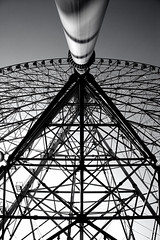 (K.Shinozaki) Tags: monochrome wheel ferris