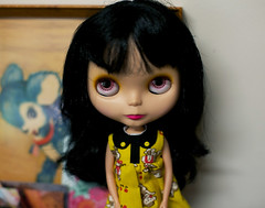 """I'm just a widdle Goldie"" (prettyinthekitchen) Tags: blythe goldie bl"