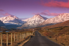 Heading to the Hills (PeterYoung1.) Tags: mountains colour scotland scenic scottish atmospheric