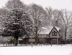 Snow scene (pompey shoes) Tags: park trees house snow kent february sidcup