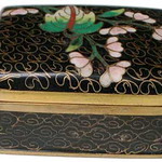"<b>Square Covered Box</b><br/> Unknown (Chinese) Square Covered Box Cloisonne, n.d. LFAC #1994:12:27<a href=""http://farm8.static.flickr.com/7198/6916692185_1dd16594ae_o.jpg"" title=""High res"">∝</a>"