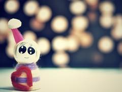 :) Smile in your heart (MrQQ [April's Aries]) Tags: life street trip travel light music art love toy photography nikon mood dof sad bokeh spirit walk vietnam wait miss saigon d90
