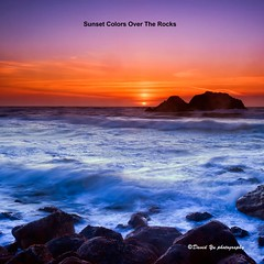 Sunset Colors Over The Rocks (davidyuweb) Tags: sunset seascape colors bath ruins san francisco rocks over sutro sfist the