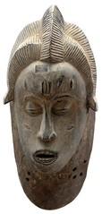 10Y_0917 (Kachile) Tags: art mask african tribal ctedivoire primitive ivorycoast gouro baoul nativebaoulmasksaremainlyanthropomorphicmeaningtheydepicthumanfacestypicallytheyarenarrowandfemininelookingincomparisontomasksofotherethnicitiesoftenfeaturenohairatallbaoulfacemasksaremostlyadornedwithvarioustrad