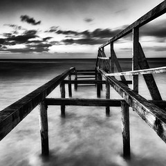 Nordwest (dubdream) Tags: ocean sea sky blackandwhite white seascape storm black beach water clouds strand germany landscape see meer sony balticsea ostsee schleswigholstein heiligenhafen a55 explored sonyalpha dubdream