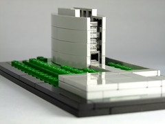 LEGO Architecture MOC: Ruskin Library 02, Lancaster (moctown) Tags: uk lego lancaster ruskinlibrary microscale legoarchitecture
