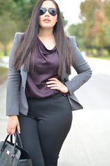 Corporate Classics (GirlWithCurves) Tags: officewear plussize styleblog plussizefashion girlwithcurves taneshaawasthi