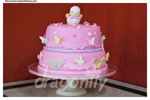 Baby Shower Cake / Bolo Chá de Bebê