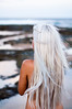 (danielle kiemel) Tags: ocean friends sunset sea summer portrait people woman white beach girl female work outdoors photography back nikon young longhair australia nsw blonde kristen nudity centralcoast 50mmf14 2012 wamberal daniellekiemel wamberalbeach nikond5000