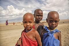 tanzania (peo pea) Tags: africa portrait panorama nature animals landscape tanzania bush wildlife baloon natura safari ngorongoro arcobaleno ritratto masai animali mongolfiera maurizio peo savana